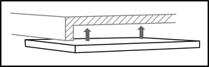 Technical drawing for WorkRite 177 Mounting Spacers