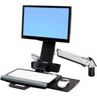 Keyboard Monitor Sit Stand Arm Ergotron 45 266 026 Styleview