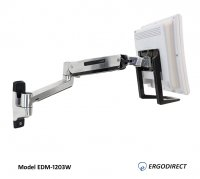 sit stand arm for dental offices edm1203w