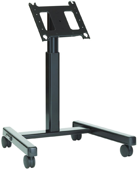 Chief PFMU Flat Panel Confidence Monitor Lightweight Mobile Cart