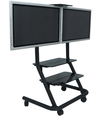Chief PPD 2000 Dual Display Video Conferencing and Presenters Cart