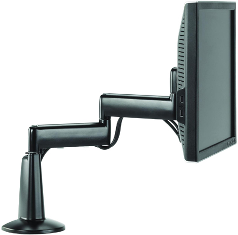 Chief KCD110 Flat Panel Dual Swing LCD Arm Desk Monitor Mount