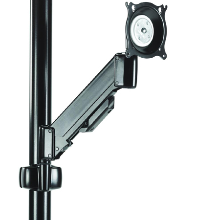 Chief KPV110B or KPV110S Pole Mount Height Adjustable Flat Panel LCD Arm