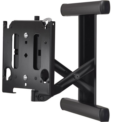 "Chief MIWRFVB Medium (30""-55"") Low Profile In-Wall Swing Arm Mount Black"