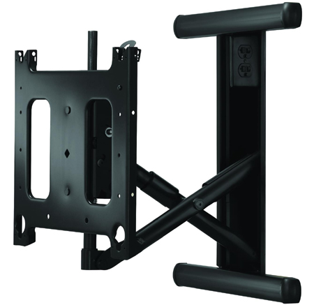 Chief PIWRF2000 Large In-Wall Swing Arm Wall Mount Black