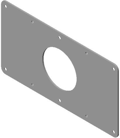 Chief MSB4101 - 200 x 100 Flat Panel Interface Bracket for 30 to 50 inch Displays