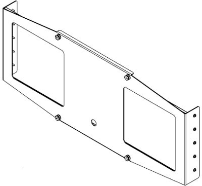 Chief PSB-2021 Custom Interface Bracket for Large Flat Panel Mounts