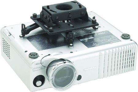 Chief RPAU Universal Ceiling Mount with projector