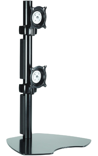 Chief KTP230B or KTP230S Table Stand Flat Panel Dual Vertical Monitor Mounts