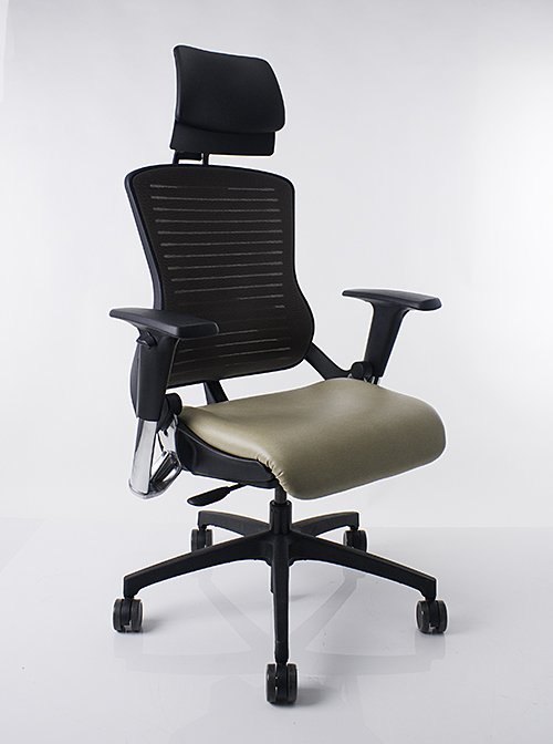 Office Master OM5 with Elevated Headrest