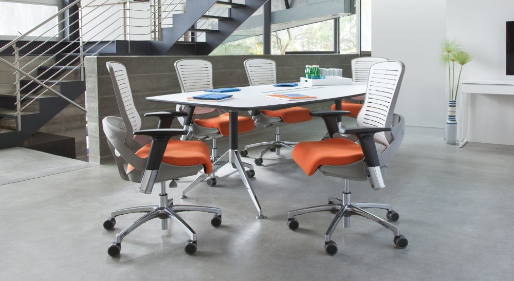 Office Master OM5 Chair in a Conference Room Setting