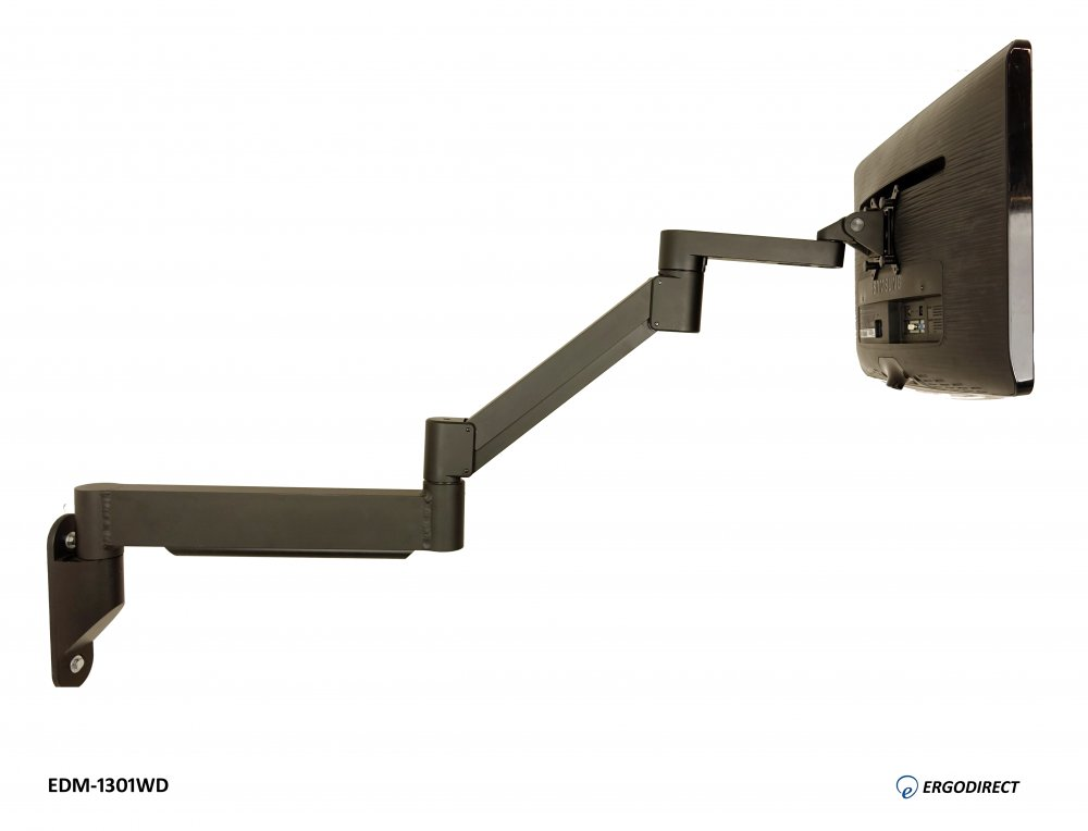 Extra Long Reach Wall Mount Monitor Arm, Extra Long Swing Arm Tv Mount