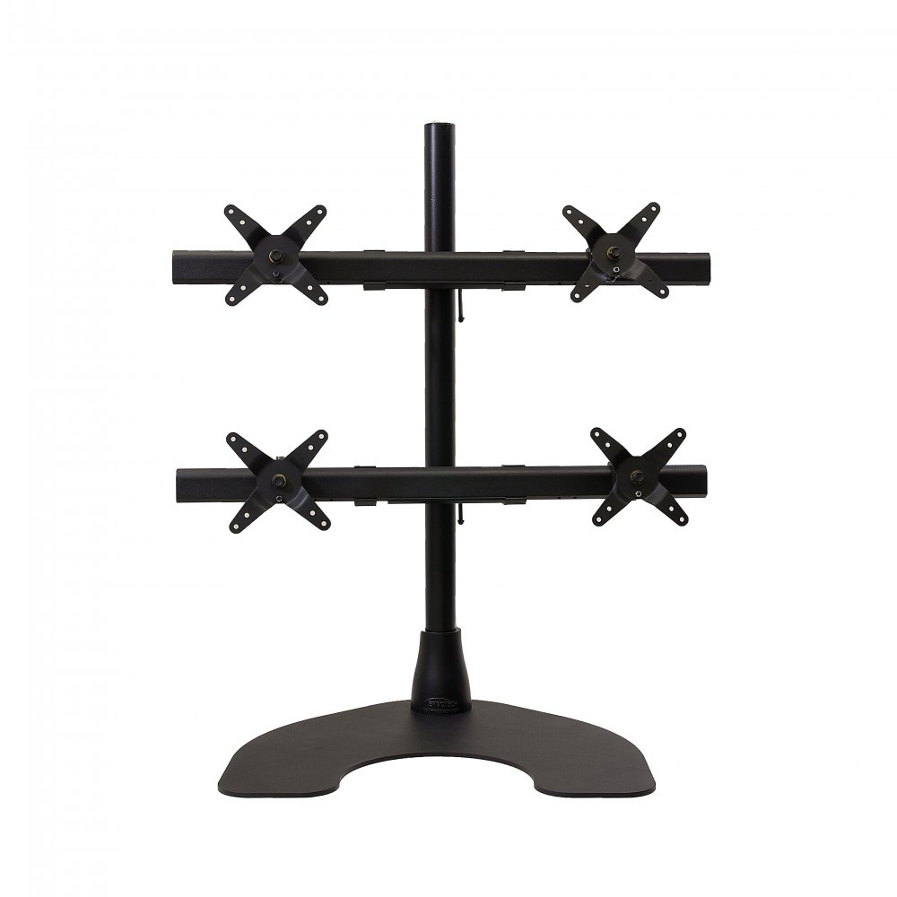 Ergotech 100-D28-B22-HD Quad (2 over 2) Heavy Duty Desk Stand