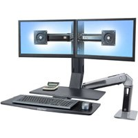 Standing Desk Ergotron 24 316 026 Workfit A Dual Monitor