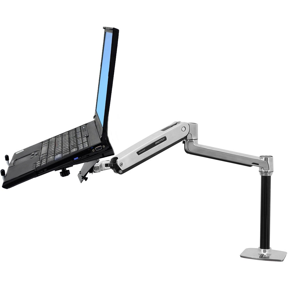 Sit Stand Desk Mount Laptop Arm Erirect Ed Nb Lx2dm