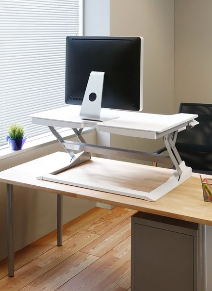 Ergotron 33 406 062 Workfit Tl Desktop Sit Stand Workstation