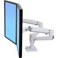 Ergotron 45 491 216 Lx Dual Monitor Arm Side By Side