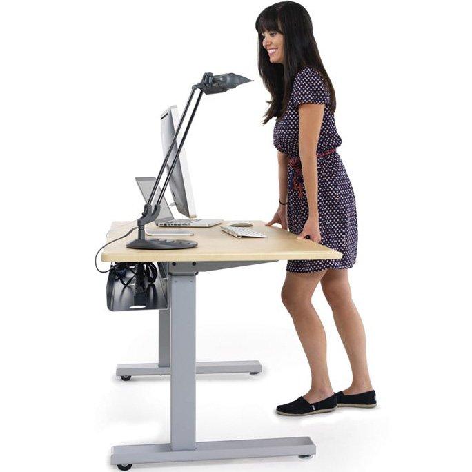 Enjoyable Ergotron Mvbd60Ss Elevate 60 Electric Sit Stand Desk Download Free Architecture Designs Licukmadebymaigaardcom