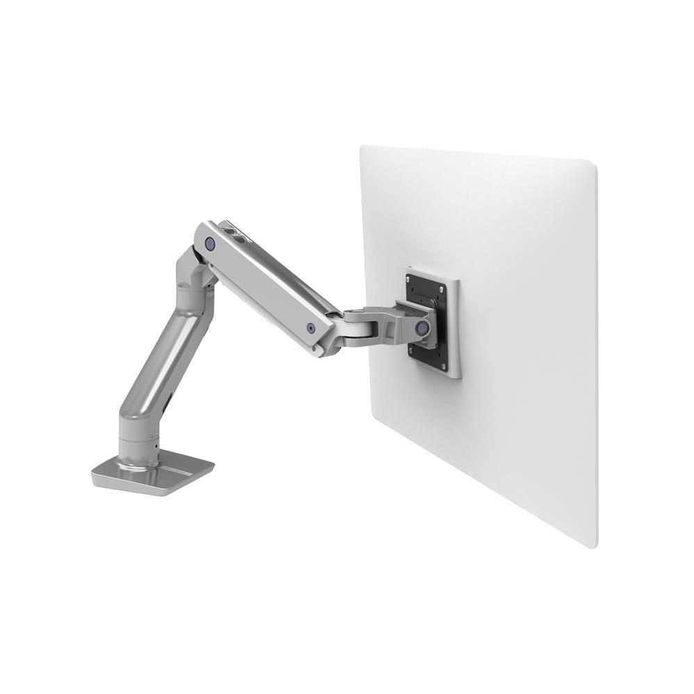 Ergotron 45 475 026 Hx Desk Mount Single Monitor Arm Polished Aluminum