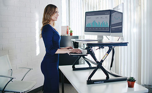 Improve your posture while you work