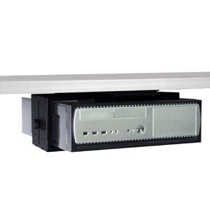 Humanscale Cpu450 Wall Or Under Desk Mount Cpu Holder Cpu450stk