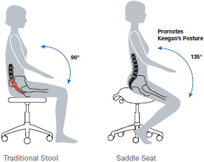Traditonal Stool and Saddle Seat