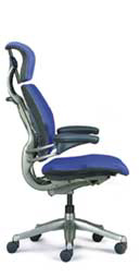 Humanscale Freedom Task Chair - Titanium Frame Color