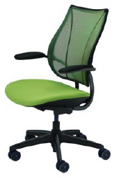 Humanscale Liberty Task or Conference Chair - Black Base - Black Frame - Black Trim