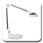 Humanscale Element Vision EV 7 Watt Hi-Output MCX LED Task Light with Dimmer and Occupancy Sensor