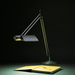 Humanscale DT2E Double Arm with Shade Diffrient Task Light