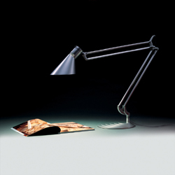 Humanscale DX2E Double Arm with Shade Diffrient Work Light