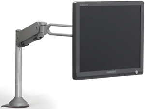 Humanscale M4 Monitor Arm Desk Mount - Wall Mount