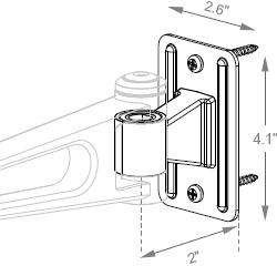 WD - Standard Wall Stud Mounts