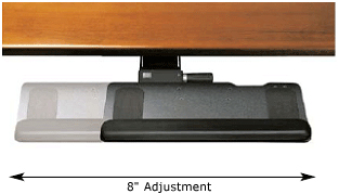 Humanscale LS Lateral Slider Mechanism Accessory for Keyboard Trays