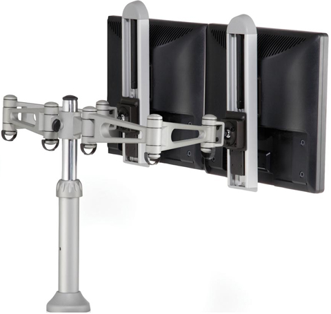 Humanscale M7 Flat Panel Dual Monitor Arm