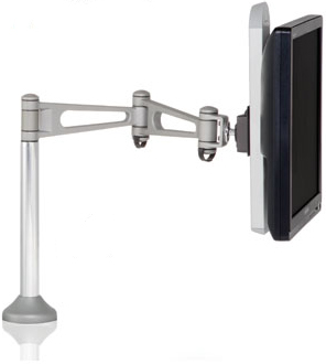 Humanscale M7 Flat Panel Single Monitor Arm