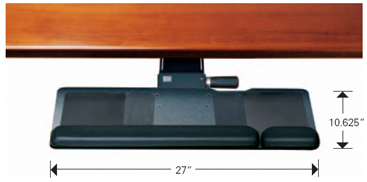 Humanscale 500 Big Board Keyboard Tray Platform System