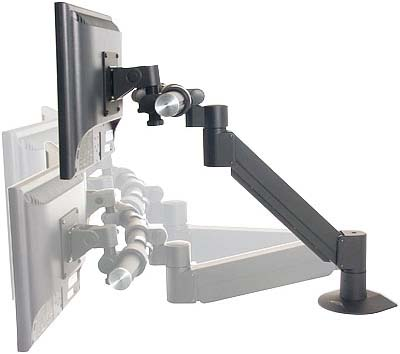 Innovative 9177-3 ArcView Triple Monitor Beam and Height Adjustable LCD Arm