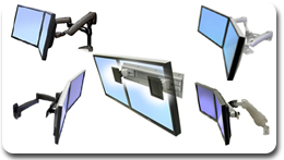 Ergotron Multi Monitor LCD Mounts / Arms