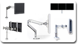 Humanscale Multi Monitor LCD Mounts and Arms