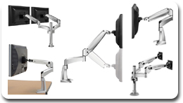 Workrite Multi Monitor LCD Mounts / Arms