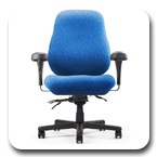 Neutral Posture Big & Tall Jr.BTC16800 Ergonomic High Performance ESD Office Chair