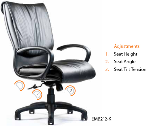 Neutral Posture Embrace Executive, Conference and Task Chair