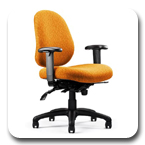 Neutral Posture N.Dure 24/7 Task, Stool, Intensive-Use Office Chair