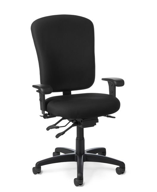 Office Master IU58 Intensive Use 24-Seven Ergonomic Large Build Chair