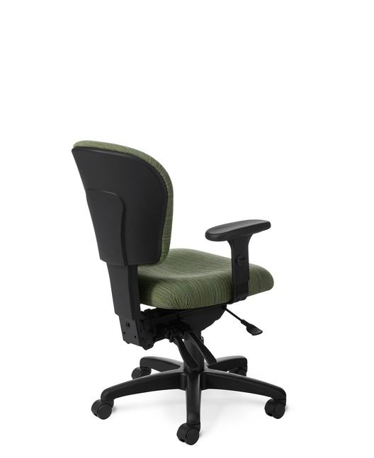 Back View - PA53 Patriot Value Ergonomic Chair by Office Master