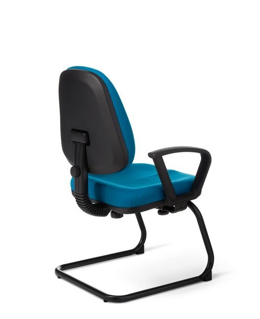 Back View - BC48S BC Series Sled Base Guest Chair