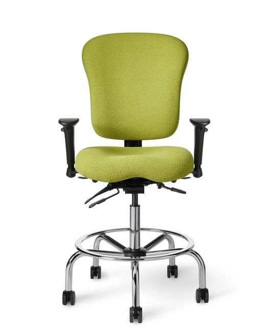 Office Master CLS61 Classic Multi Functional Ergonomic Lab Stool