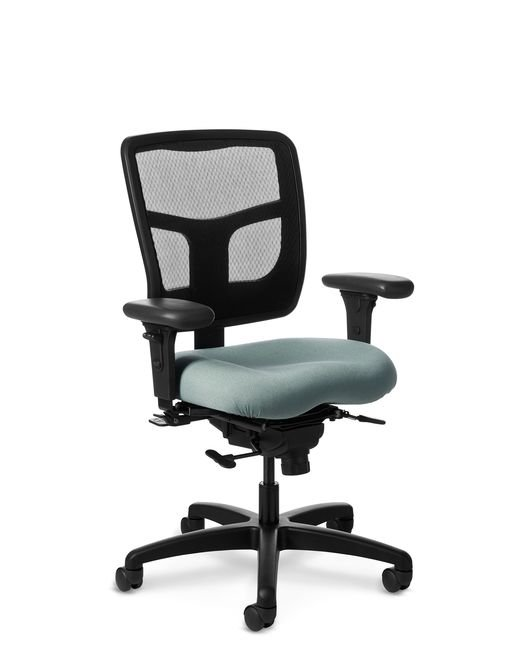 Side View of Office Master YES YS74 Mid-Back Ergonomic Chair