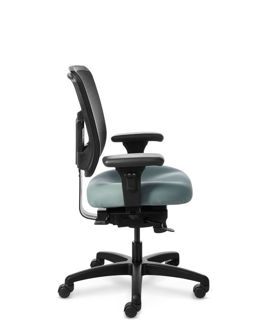 Full Side View of Office Master YS74 Ergonomic Task Chair